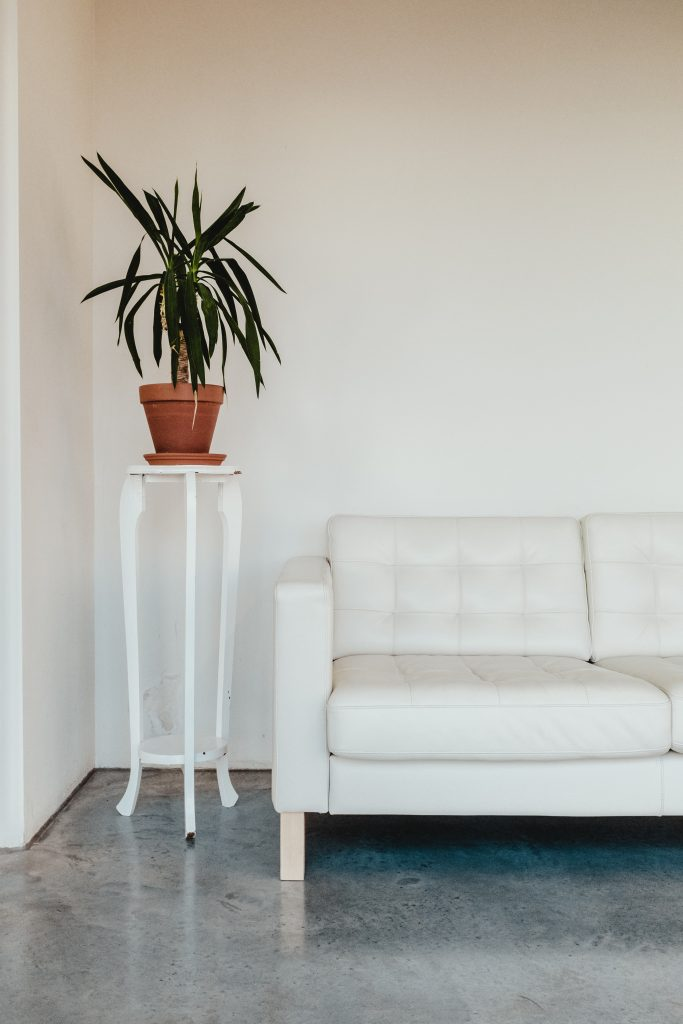 Our functional medicine doctor's waiting room