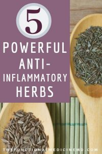 Powerful Herbs Pinterest Graphic
