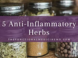 5 Anti-Inflammatory Herbs Title Graphic